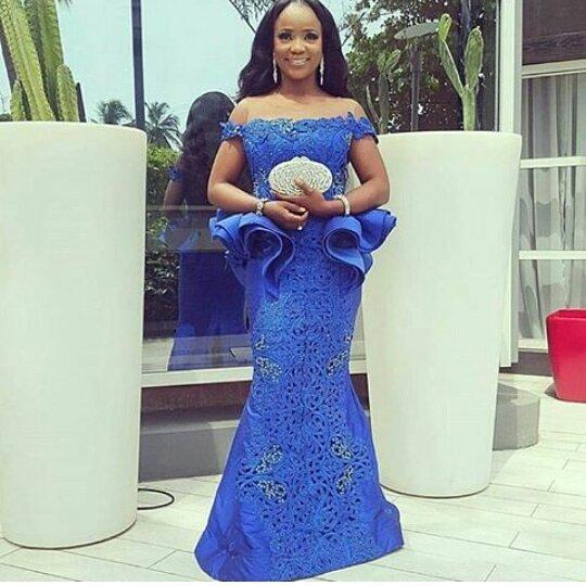 Nigerian Wedding Dress Designs: Beautiful Wedding Guest Aso Ebi Styles