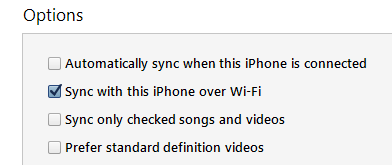Many of us may not know that we can actually sync our iOS devices over the Wi-Fi. This means you do not need USB lighting cable anymore for syncing your device on iTunes. This feature was introduced couple of years ago but many of us might be unknown about it. So this article is for those who didn't know about this feature. It's a really simple step that you need to follow and you're done.   Let's get started…  Step 1: Open iTunes and connect your device via USB lighting cable. (You should connect the USB lighting cable for one time only. This is required to enable the Wi-Fi sync feature. After you enable it, you do not need to connect the USB lighting cable next time.
