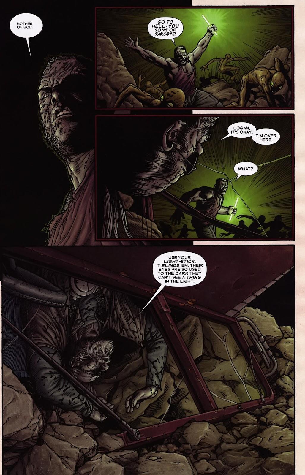 Read online Wolverine (2003) comic -  Issue #69 - 11