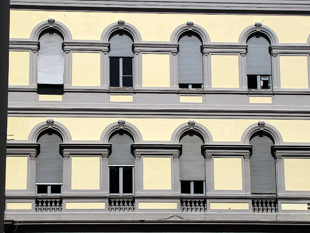 Windows, Central Post Office, Livorno