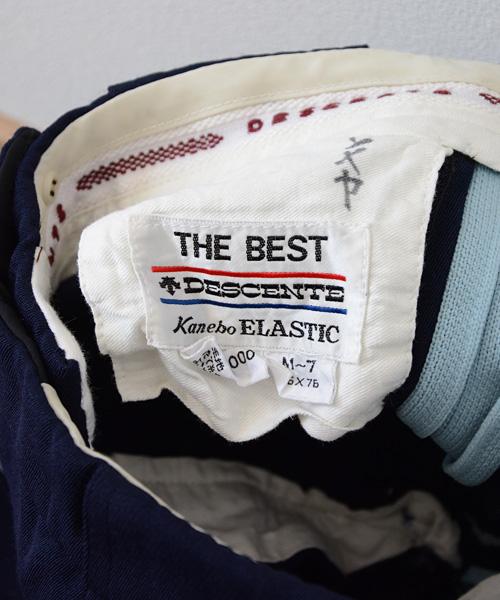 デサント ジャパンヴィンテージ FUNS スキー パンツ ライン入 80年代 Descente アイススケート