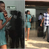 This lady goes viral after staring at actor RMD like this, Nigerians react