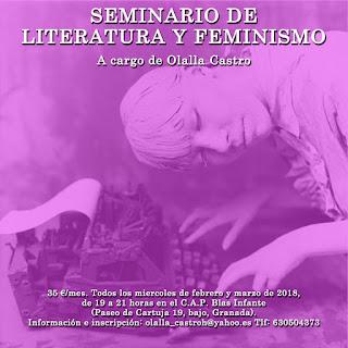 Seminario sobre literatura y feminismo