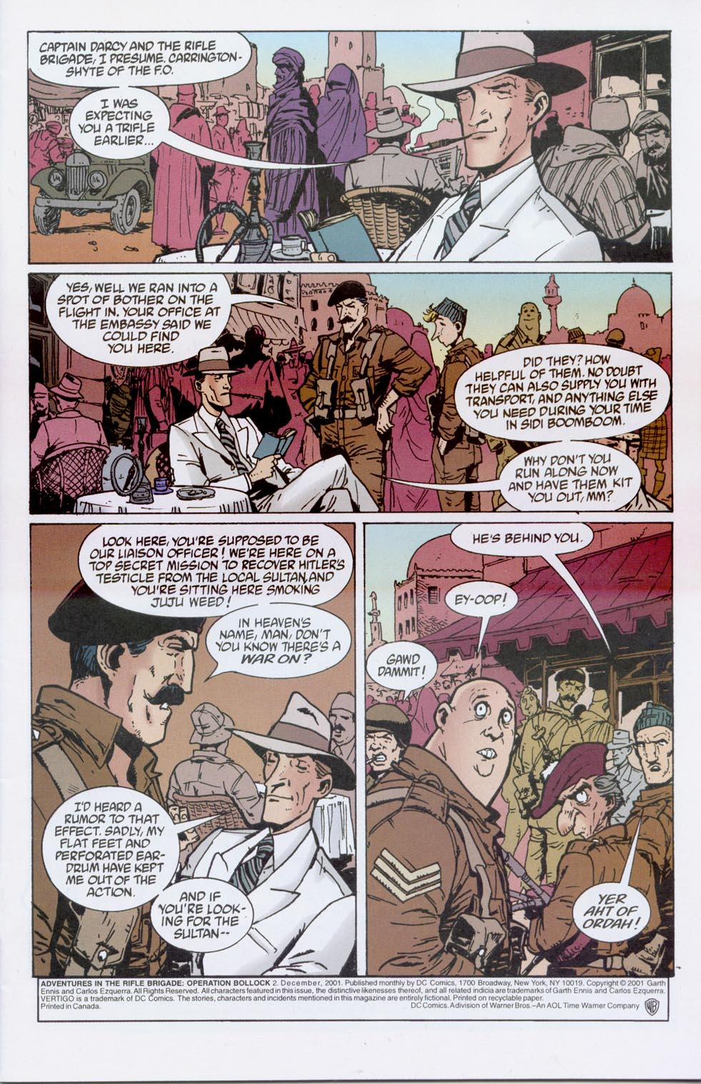 Adventures in the Rifle Brigade: Operation Bollock 2 Page 2
