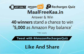 Recharge Quiz Time
