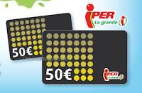 Immagine Vinci 100 gift card da 50 euro con''Spesa ricca senza macchie''