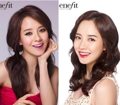Model Rambut Song Ji Hyo