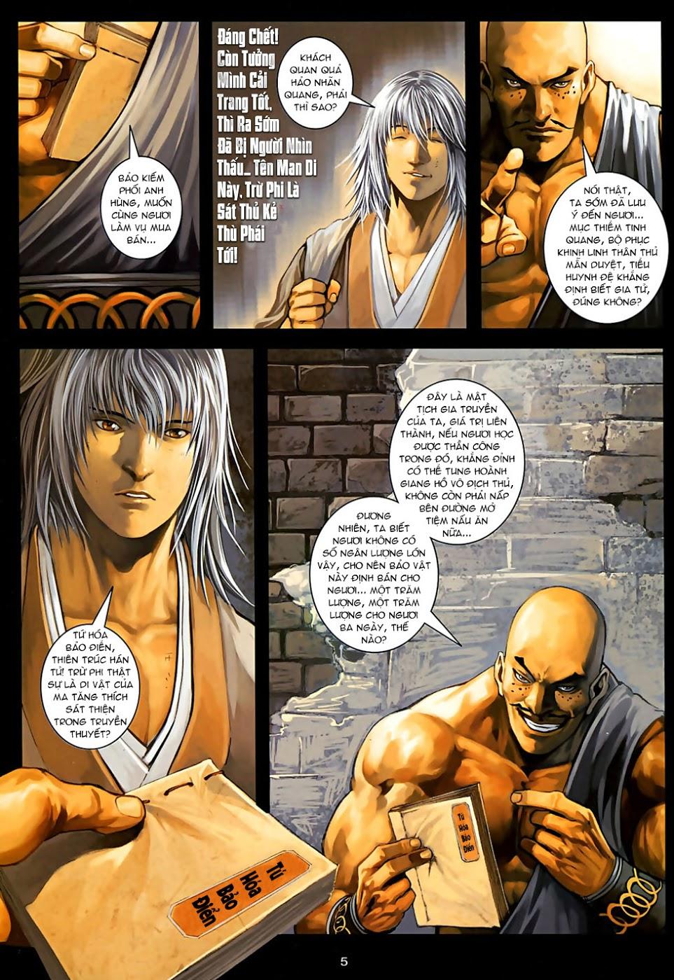 Ôn Thuỵ An Quần Hiệp Truyện Phần 2 chapter 30 trang 6