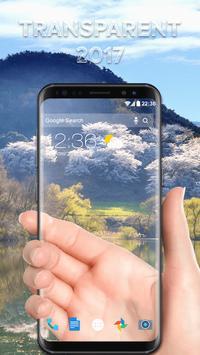 تطبيق  Transparent Screen