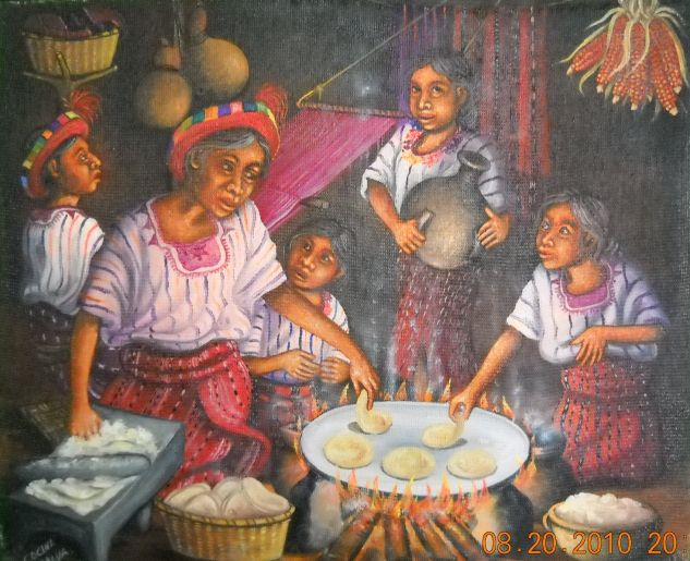 David Rodriguez Blog Lorenzo Cruz Sunu  Pintor Guatemalteco