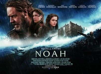 Poster Of Noah (2014) Full Movie Hindi Dubbed Free Download Watch Online At worldfree4u.com