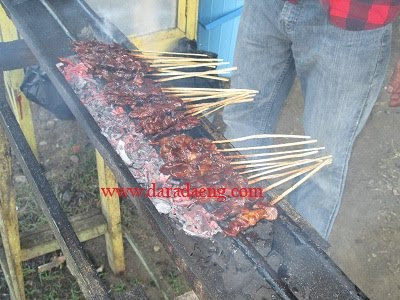 Resep Sate Makassar Bumbu Kacang