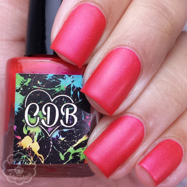 CDB Lacquer - Dreary Red