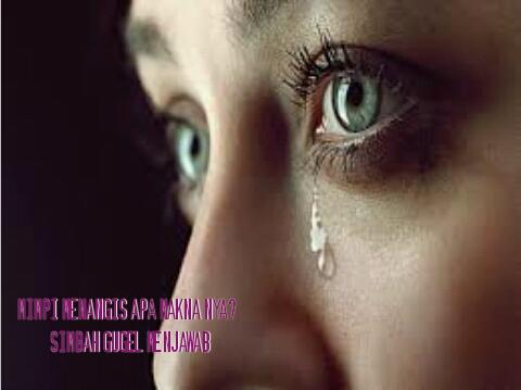 Mimpi menangis togel