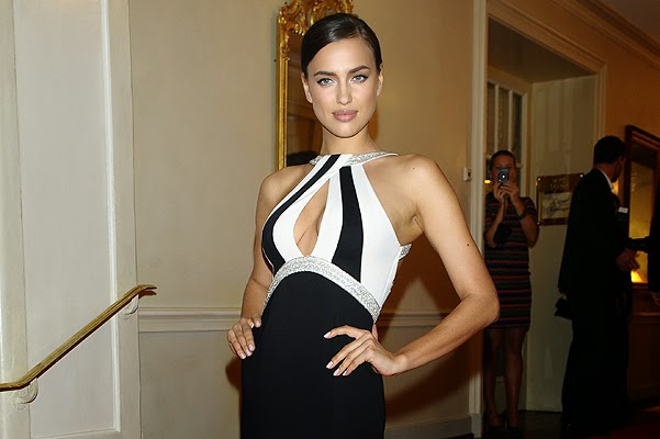Irina Shayk at the Gala Spa Awards 2014 in Baden-Baden
