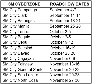 Epson 2014 People's Choice Roadshow Dates