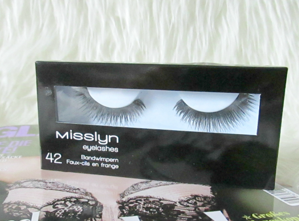 MISSLYN Eyelashes - Bandwimpern Nr.42 - 1 Paar - 7,95€  Rock the party