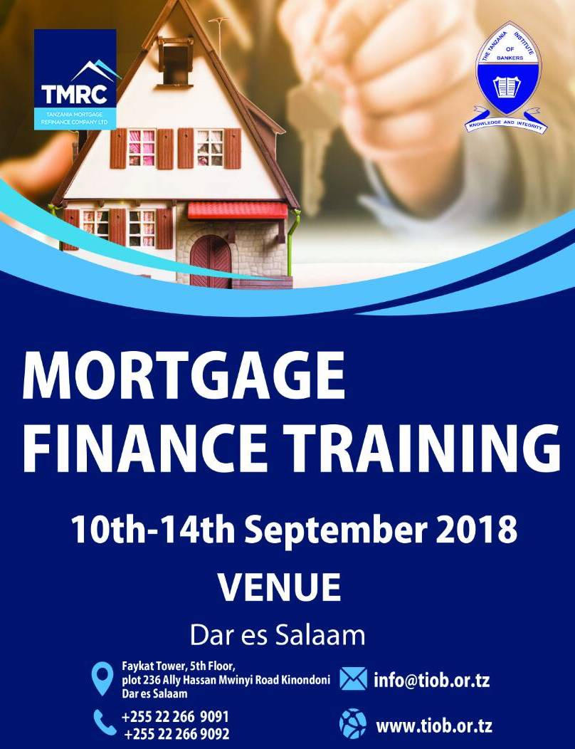 MORTGAGE FINANCE TRAINING