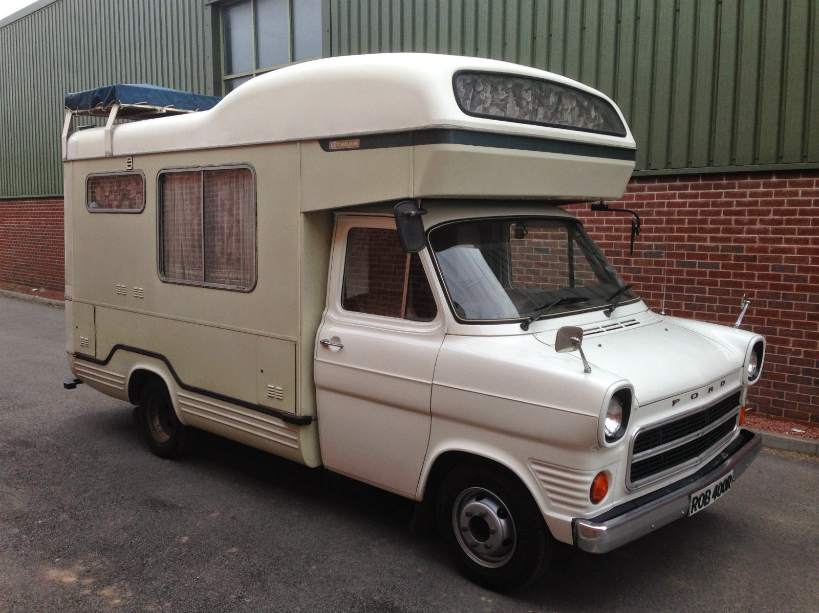 used rvs 1977 ford transit mk1 camper motorhome for sale by owner. Black Bedroom Furniture Sets. Home Design Ideas