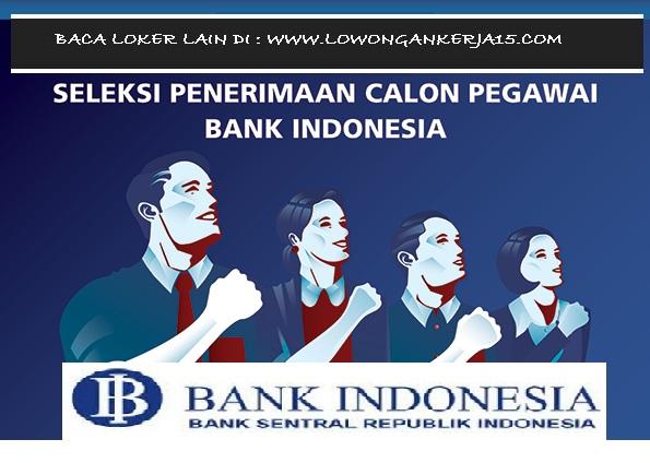 Lowongan kerja Bank BI Tahun 2017