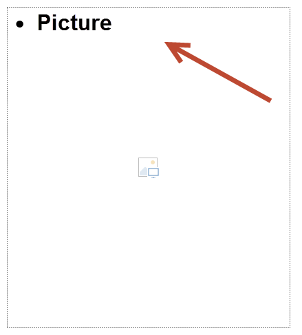 how to add placeholder in ppt