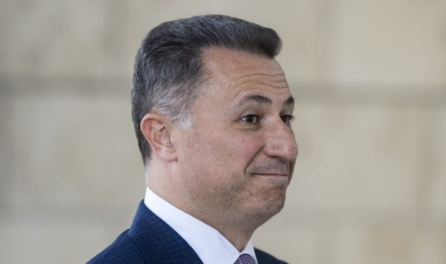 Arrest warrant for Nikola Gruevski but he's disappeared