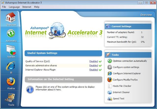 2017 Ashampoo Internet Accelerator