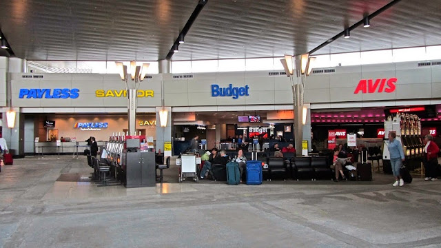 Aluguel de carro no aeroporto Califórnia