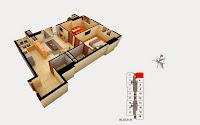 Thiết kế căn 02 tòa B chung cư Gemek Tower