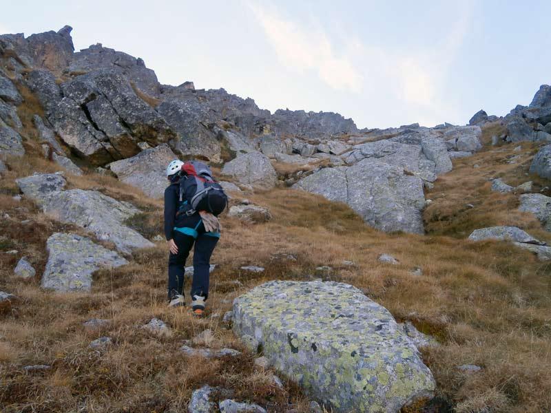 ARISTA RACHOU AL GRAND QUAYRAT   Ascensiones a los tresmiles del Pirineo