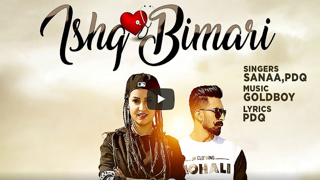 Ishq Bimari Punjabi Song Lyrics | Sanaa Feat PDQ