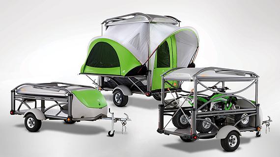 moto et scooter promotion et info la tente remorque id ale. Black Bedroom Furniture Sets. Home Design Ideas