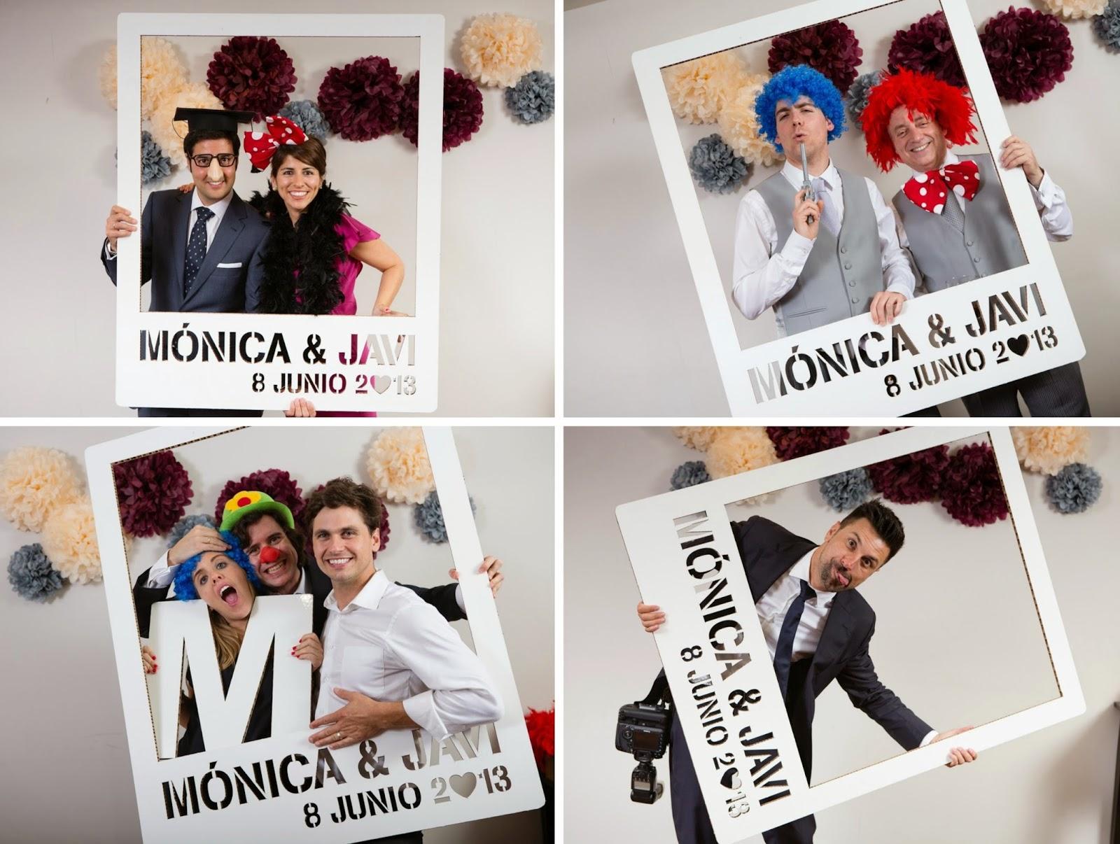 Blog de bodas yo dire que si diy tutorial para hacer - Como hacer un marco de fotos a mano ...