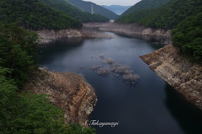 栃木県 湯西川 ダム
