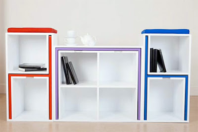 كتبة للمساحات الصغيرة، افكار رائعة للمكتبات، مكتة عصرية، تصاميم مكاتب جميلة