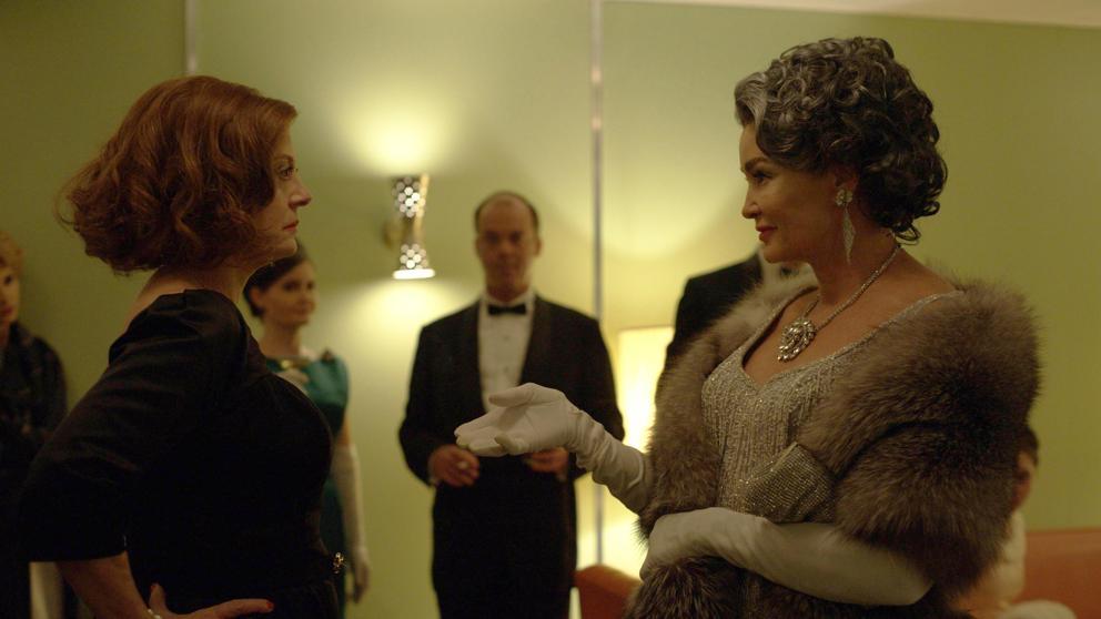 Susan Sarandon y Jessica Lange en 'Feud'