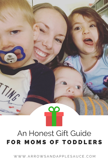 What does a mom of three kids under four years old really need for Christmas? Click to find out.