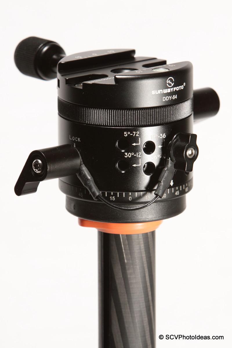 Sunwayfoto DDP-64M on tripod mounting plate
