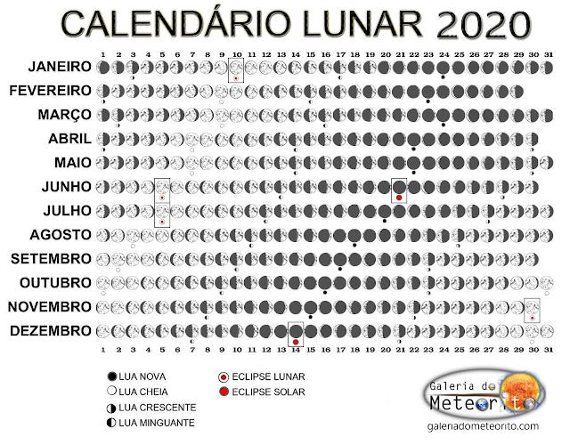 calendário lunar 2020 - versão para impressão