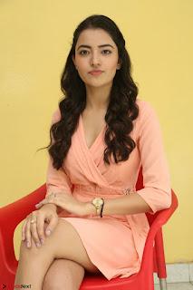 Rukshar Mir in a Peachy Deep Neck Short Dress 066.JPG