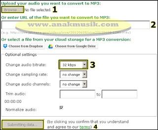 Cara Memperkecil Ukuran File MP3 Tanpa Software (Gratis)