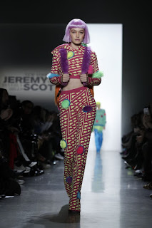 Gigi Hadid On The Runway Of Jeremy Scott Fashion Show In New York 2018