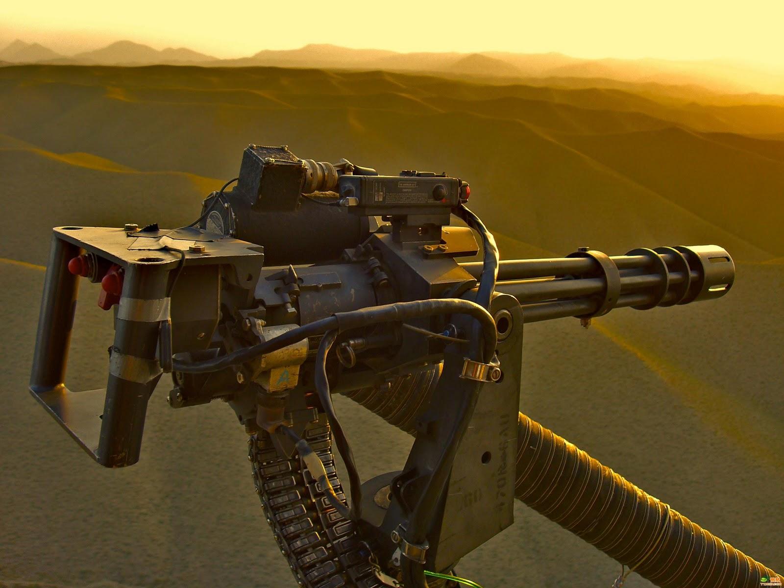 Thesis gatling gun