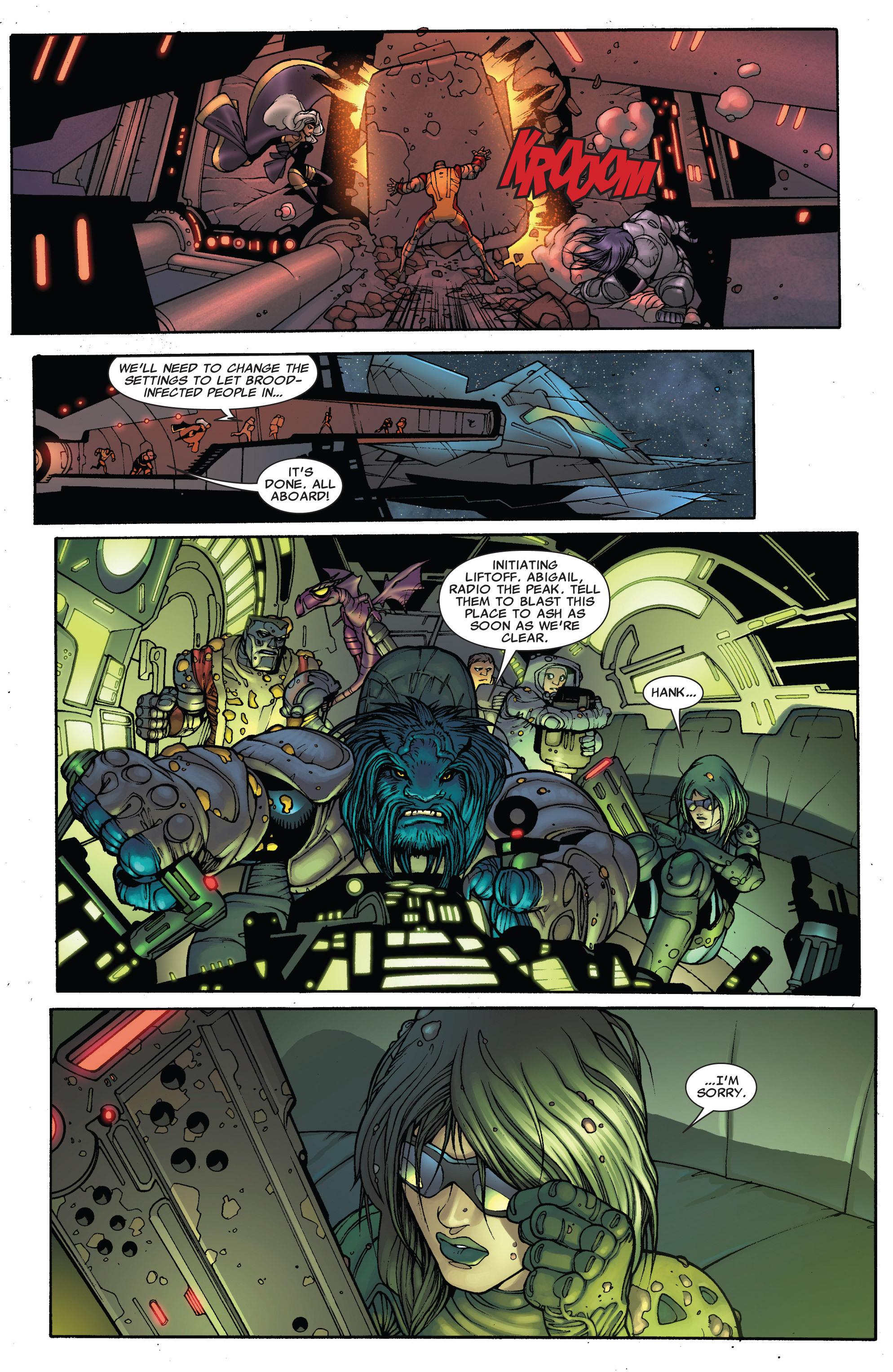 Read online Astonishing X-Men (2004) comic -  Issue #38 - 23