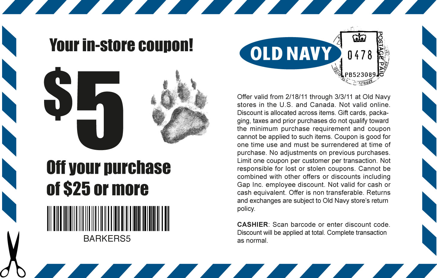 Old Navy Coupons & Promo Codes. 43 verified offers for October, purchase before any discounts or coupons are applied, allowing you to stack your savings! Often, you can often get 40% off your Old Navy purchase using discount codes. This does not work with all Old Navy coupons. Some Gap stores will accept Old Navy coupons but this 80%().