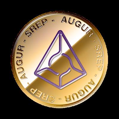 オーガー(Augur)のフリー素材(金貨ver)
