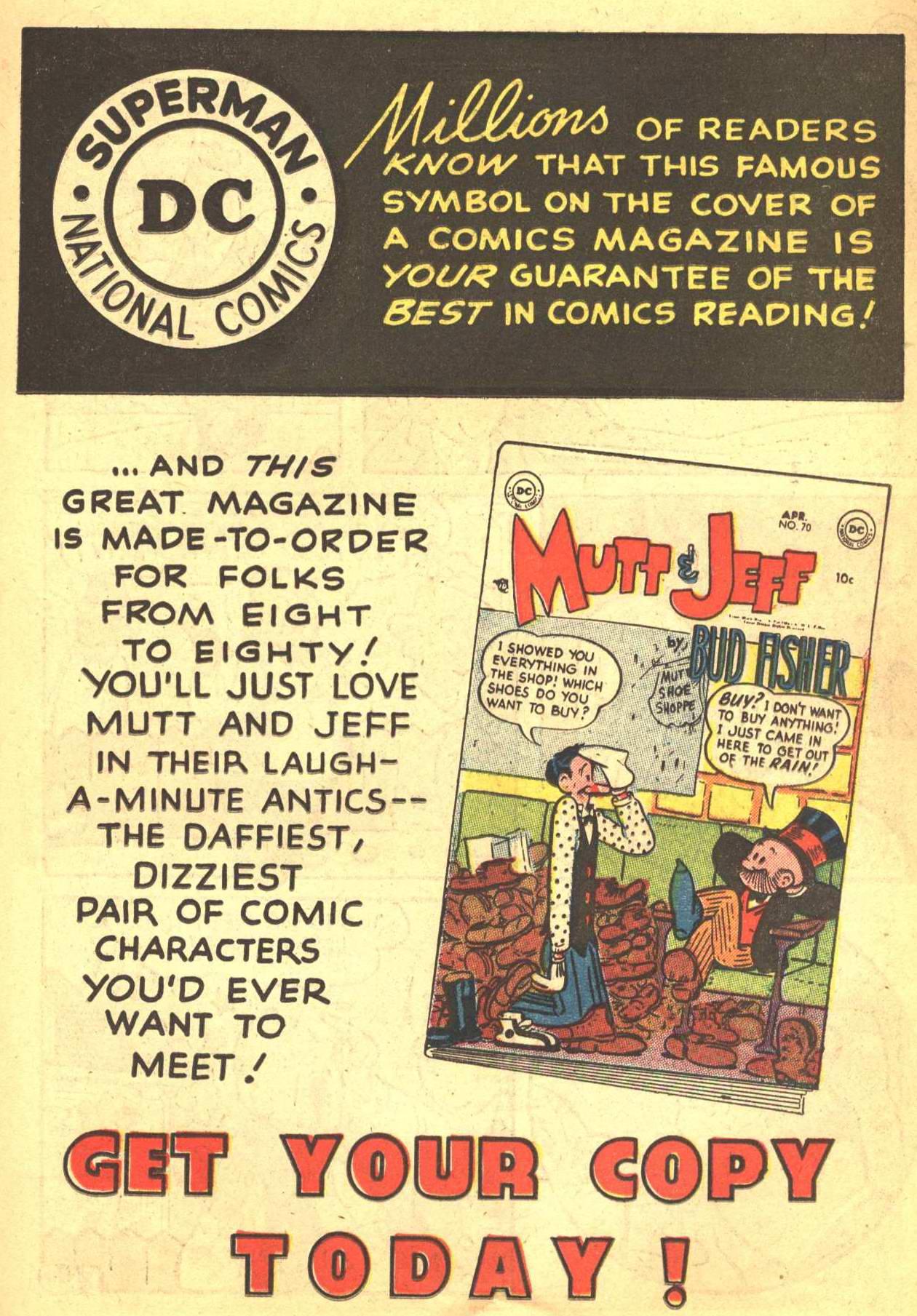 Read online Detective Comics (1937) comic -  Issue #206 - 20
