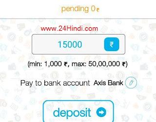 india me bitcoin kharide