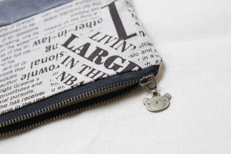 Cosmetic Case Photo Sewing Tutorial.