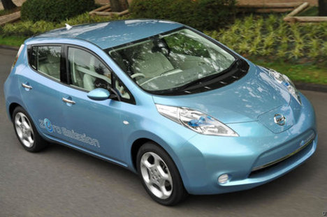 alt energy autos: nissan says restart problems reported in leaf